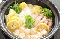 ゆずが香る鶏鍋